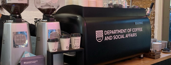 Department of Coffee and Social Affairs is one of Study in London.