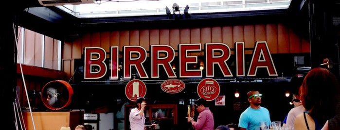 Birreria is one of nyc.