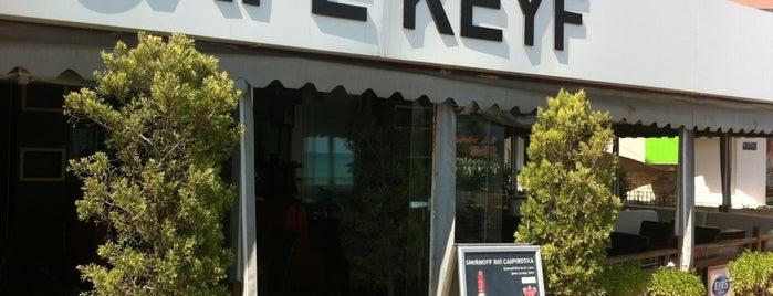 Cafe Keyf is one of Tempat yang Disukai Buğra.