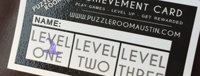 Puzzle Room Austin is one of ATX To-Do-List.