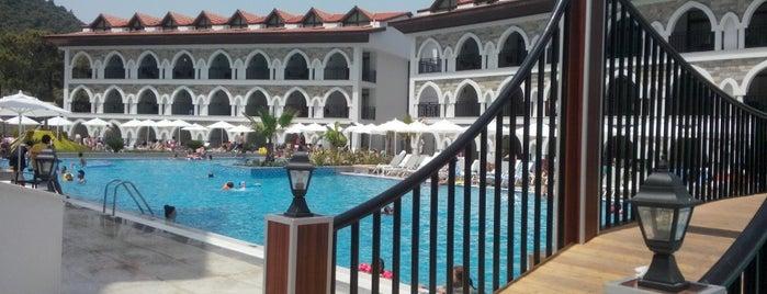 Ramada Resort Akbük is one of Lugares guardados de Şadi.