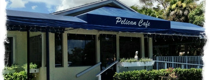 Pelican Cafe is one of West Palm Food.