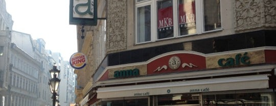 Anna Café is one of Budapest.