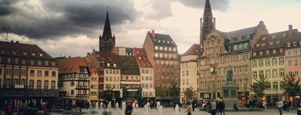 Place Kléber is one of Strasbourg favorites.