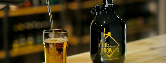 The Growler Barcelona is one of Cervezas artesanas.