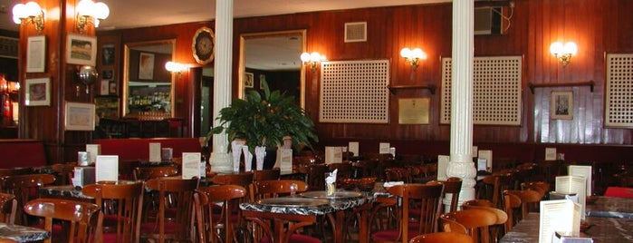 El Café Gijón is one of 30 cafés con encanto en Madrid.