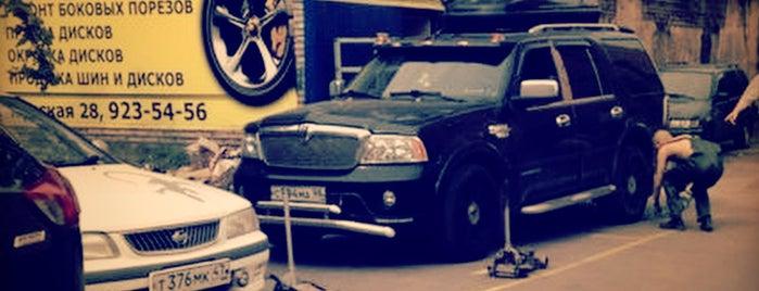 Шиномонтаж 24 is one of AlexSashka™'ın Beğendiği Mekanlar.