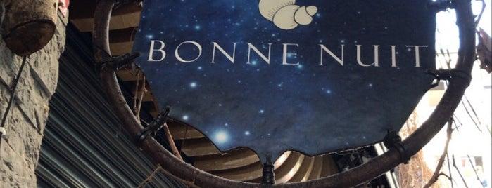 Bonne Nuit Galata is one of gidilecek.