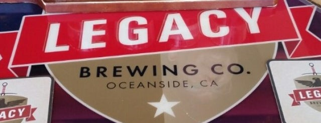 Legacy Brewing Tap and Kitchen is one of San Diego Breweries.