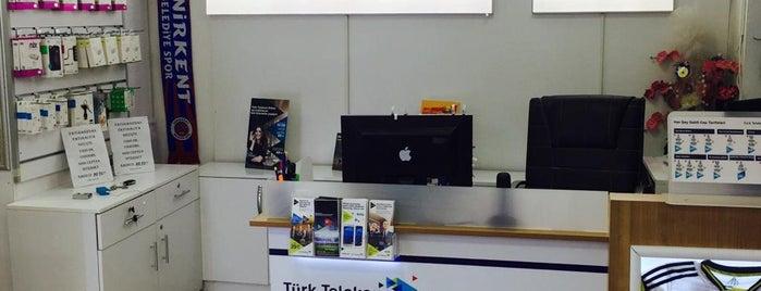 Türk Telekom Onur İletişim Senirkent is one of Sercan: сохраненные места.