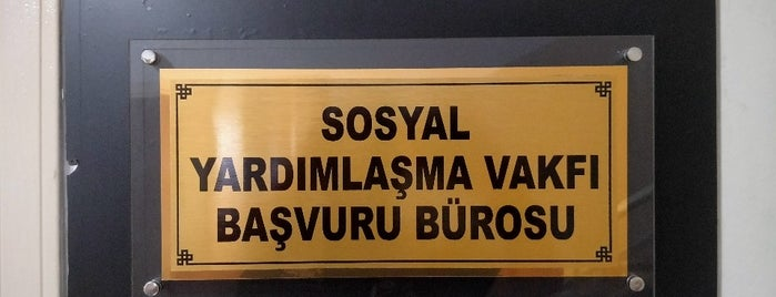Muratpaşa Sosyal Yardımlaşma Ve Dayanışma Vakfı is one of Sercan : понравившиеся места.