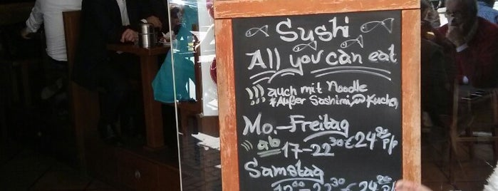 Kamon Sushi is one of Frankfurt Restaurant.
