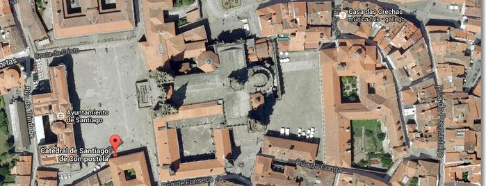 Catedral de Santiago de Compostela is one of Mi Camino de Santiago Online.