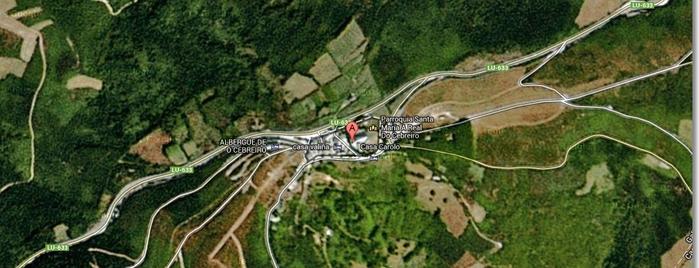 O Cebreiro is one of Mi Camino de Santiago Online.