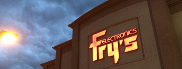 Fry's Electronics is one of Kendrick's Liked Places.