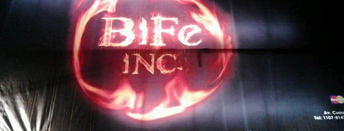 Bife Inc. is one of Comida.