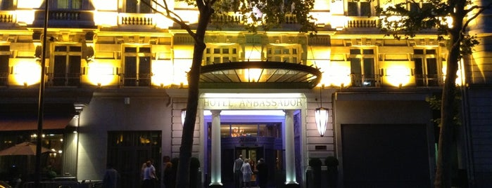 Paris Marriott Opera Ambassador Hotel is one of Jose Luisさんの保存済みスポット.