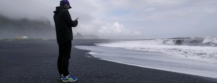 Solheimasandur Black Sand Beach is one of Part 1 - Attractions in Great Britain.