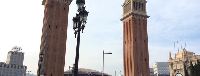 Torres Venecianes is one of Spain. Barcelona.
