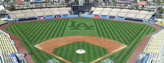 Dodger Stadium is one of MLB parks.
