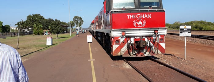 The Ghan is one of Bucket List.