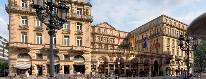 Steigenberger Frankfurter Hof is one of Frankfort.