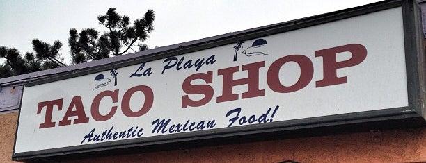 La Playa Taco Shop is one of San Diego.