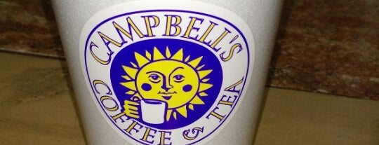 Campbell's Coffee and Tea is one of Lieux qui ont plu à Matt.