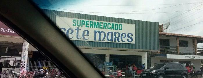 Supermercado Sete Mares is one of Gespeicherte Orte von Gustavo.