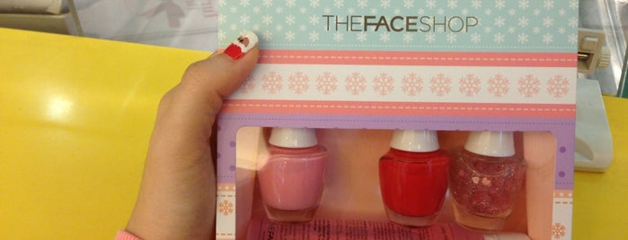 The Face Shop is one of All-time favorites in Singapore.