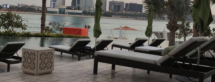 Four Seasons Hotel Bahrain Bay is one of Adam's Liked Places.
