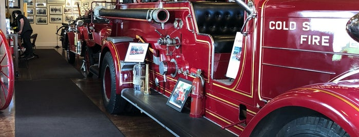 Cold Spring Harbor Fire House Museum is one of New York Museums.