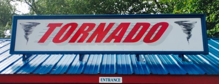 Tornado is one of Rollercoasters I've Conquered.
