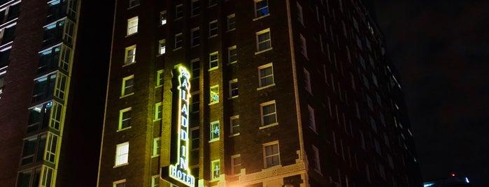 Holiday Inn Kansas City Downtown - Aladdin is one of Lugares guardados de Sherry.