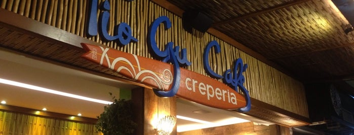 Tio Gu Café Creperia is one of Locais curtidos por Fabiana.
