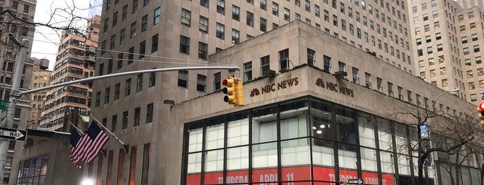 NBC News is one of สถานที่ที่บันทึกไว้ของ Ryan.