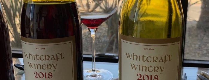 Whitcraft Winery is one of Santa Barbara Wineries.