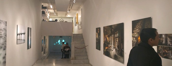 N2 Galería is one of bcn art.