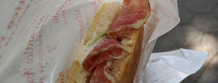 All'antico Vinaio Pop-Up is one of Spiderman.