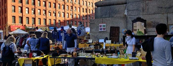 Brooklyn Flea - Dumbo is one of NY.