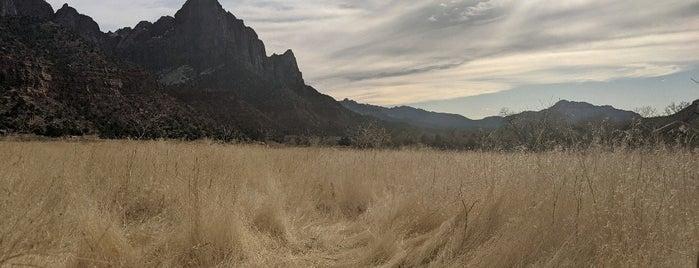 Pa'rus Trail is one of Utah.