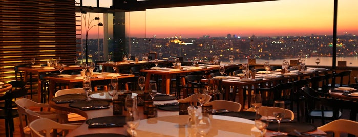 Duble Meze Pera is one of Finedining- Lounge.