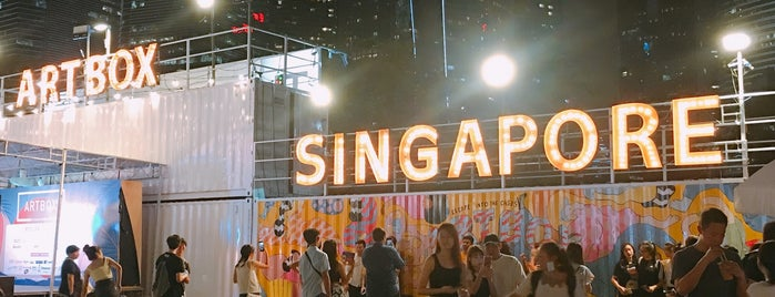 Artbox Singapore is one of Lugares favoritos de Chuck.