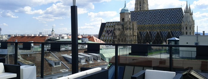 Lamée Rooftop is one of Vienna New.