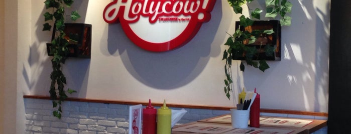 Holycow! Steakhouse is one of Tempat yang Disukai Irawan.