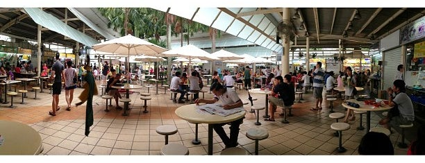 Serangoon Garden Market & Food Centre is one of Hawker Centres in Singapore.