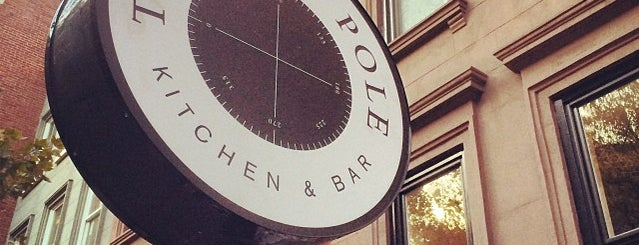 The East Pole - Kitchen & Bar is one of Go-Tos in NYC.