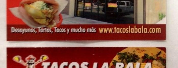 Tacos La Bala is one of Food.