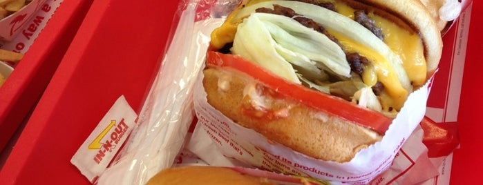 In-N-Out Burger is one of * Gr8 Burgers—Juicy 1s In The Dallas/Ft Worth Area.