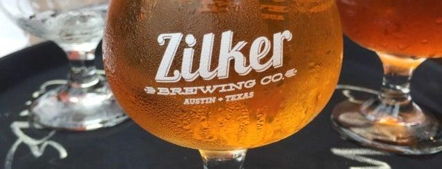 Zilker Brewing Co. is one of Austin Favorites.